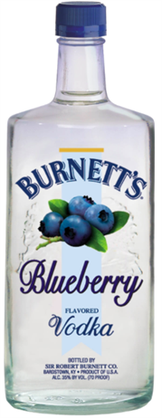 Burnetts Vodka Blueberry